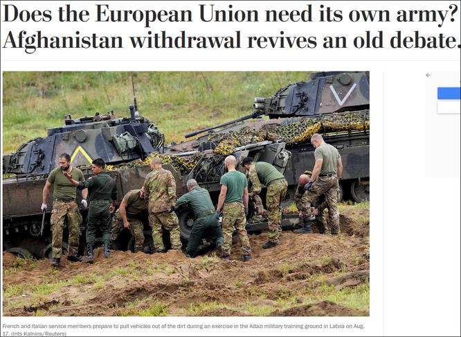 Liên minh châu Âu muốn thành lập quân đội riêng, Tổng thư ký NATO kịch liệt phản đối ảnh 3