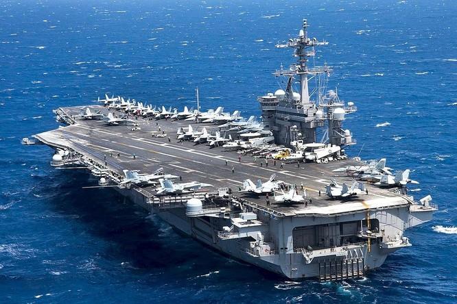 Thách thức quy định mới của Trung Quốc, Mỹ cho tàu chiến vào vùng bên trong 12 hải lý đảo nhân tạo ảnh 3