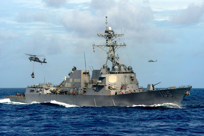 Truyền thông Trung Quốc cảnh báo Mỹ triển khai chiến hạm mang vũ khí laser tới Nhật nhằm vào PLA ảnh 1