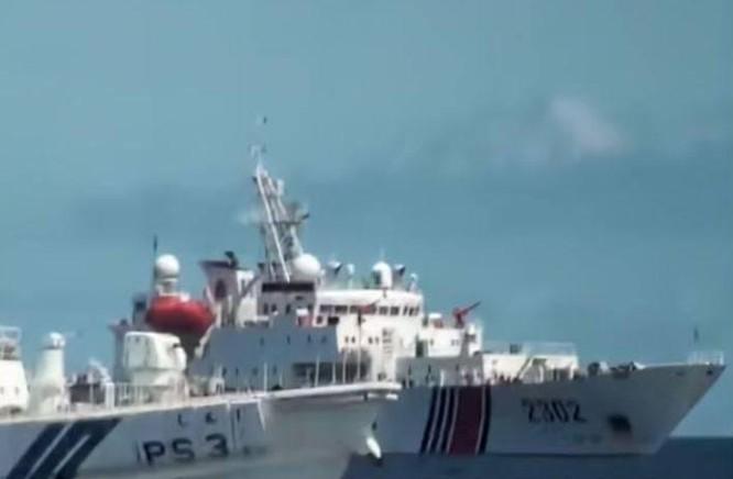 Tàu Hải cảnh Trung Quốc đâm tàu Nhật tại Senkaku/Điếu Ngư ảnh 1