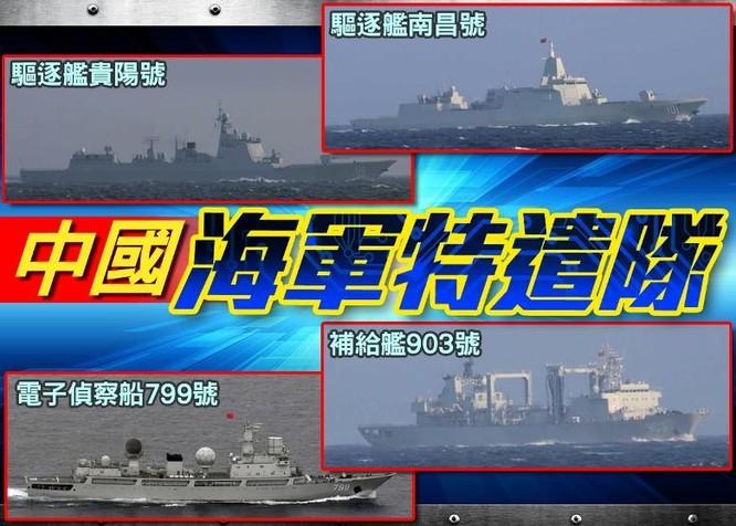 Ăn miếng trả miếng: Trung Quốc cho đội tàu đặc nhiệm đi vào vùng đặc quyền kinh tế của Mỹ ảnh 1