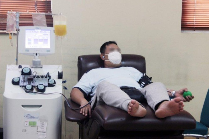 Indonesia: Liệu pháp huyết tương giúp 90% bệnh nhân COVID-19 nặng hồi phục ảnh 1