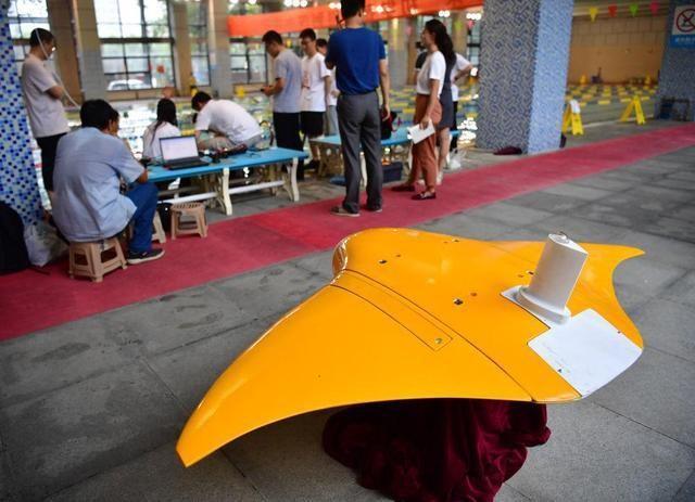 Trung Quốc khoe thử nghiệm thành công tàu lặn không người lái mô phỏng cá đuối ảnh 1