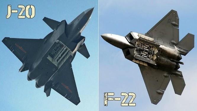 Truyền thông Trung Quốc đánh giá J-20 sánh ngang F-22, Mỹ nói chỉ như F-117A ảnh 2