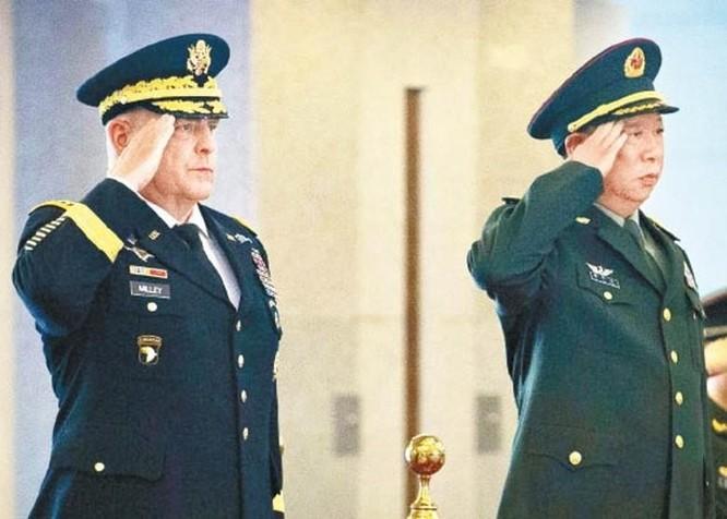 Điều trần về cú điện đàm bí mật với chỉ huy quân đội Trung Quốc, tướng Mỹ Mark Milley nói gì? ảnh 3