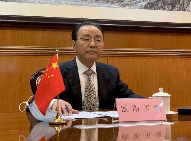 Bộ Ngoại giao Malaysia triệu Đại sứ Trung Quốc tới phản đối cho tàu xâm phạm vùng đặc quyền kinh tế ảnh 1