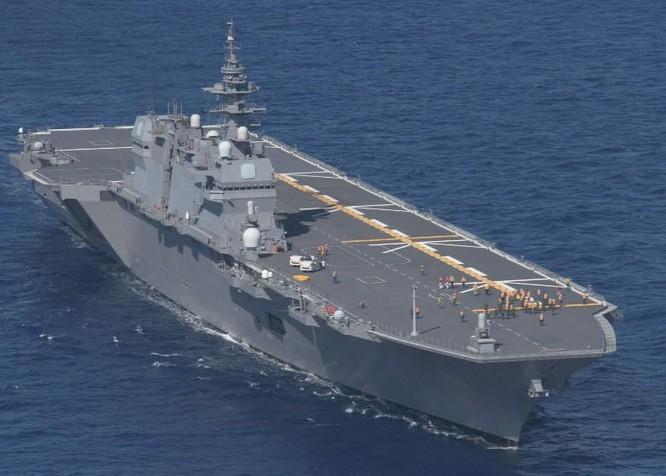 Đối phó Trung Quốc trên biển, Nhật thử nghiệm thành công cất hạ cánh F-35B trên tàu Izumo ảnh 3