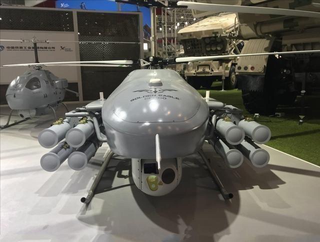 Lộ diện UAV trực thăng bí ẩn trên tàu đổ bộ Type 075 và đội hình UAV trực thăng của Trung Quốc ảnh 6