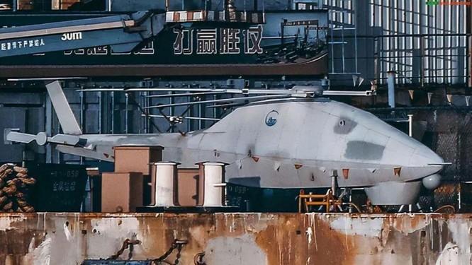 Lộ diện UAV trực thăng bí ẩn trên tàu đổ bộ Type 075 và đội hình UAV trực thăng của Trung Quốc ảnh 2