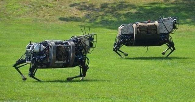 """Mỹ tung ra """"kẻ hủy diệt"""" đáng sợ: chó robot mang súng SPUR, chuẩn bị cho chiến tranh không người ảnh 3"""