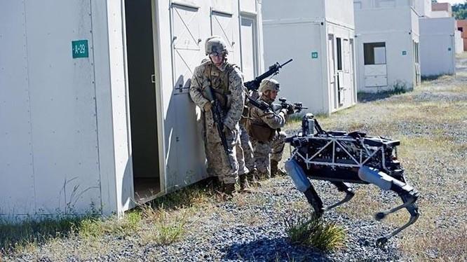 """Mỹ tung ra """"kẻ hủy diệt"""" đáng sợ: chó robot mang súng SPUR, chuẩn bị cho chiến tranh không người ảnh 2"""