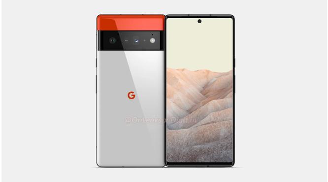 Pixel 6 Pro lộ những hình ảnh render đầu tiên ảnh 1