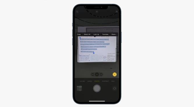 Cách hoạt động của Live Text trên những hệ điều hành mới của Apple ảnh 1