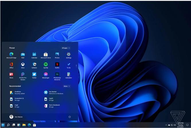 Rò rỉ giao diện người dùng, menu của Windows 11 ảnh 1