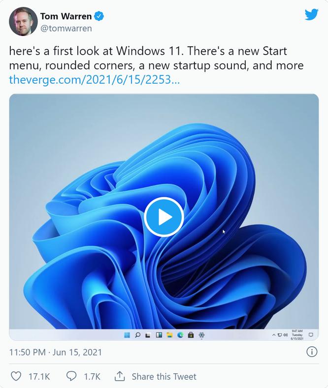 Rò rỉ giao diện người dùng, menu của Windows 11 ảnh 2