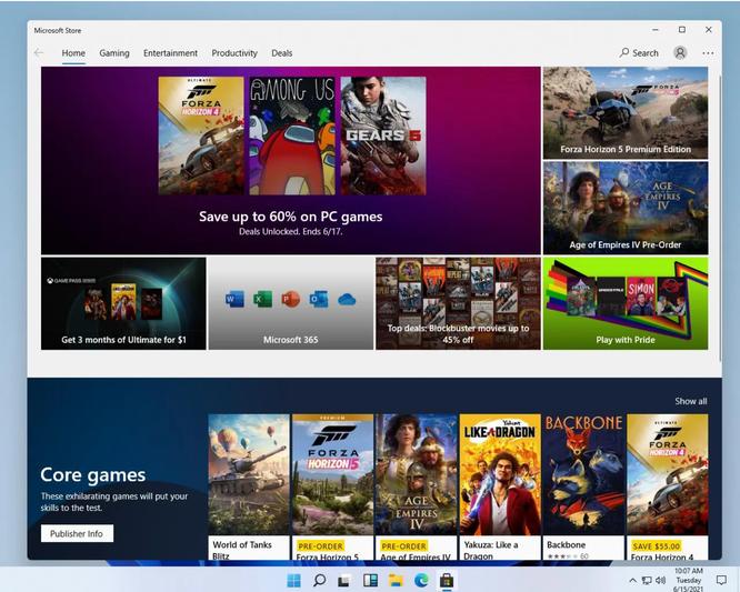 Rò rỉ giao diện người dùng, menu của Windows 11 ảnh 5