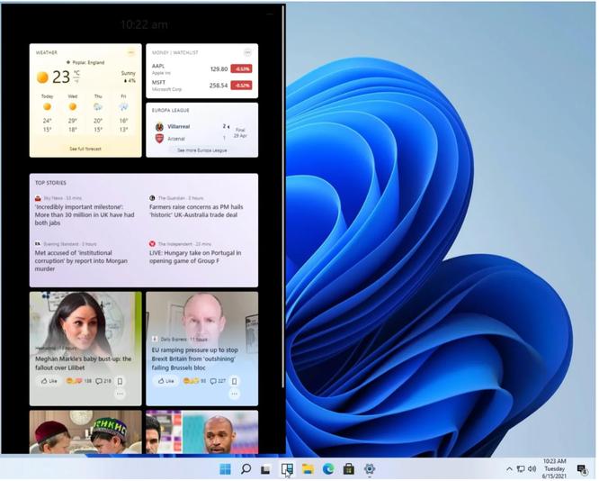 Rò rỉ giao diện người dùng, menu của Windows 11 ảnh 3