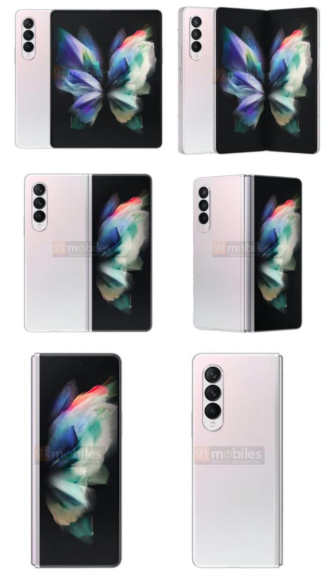 Samsung Galaxy Z Fold 3 lộ diện 3 màu sắc, dự kiến mở bán vào tháng 8 ảnh 3