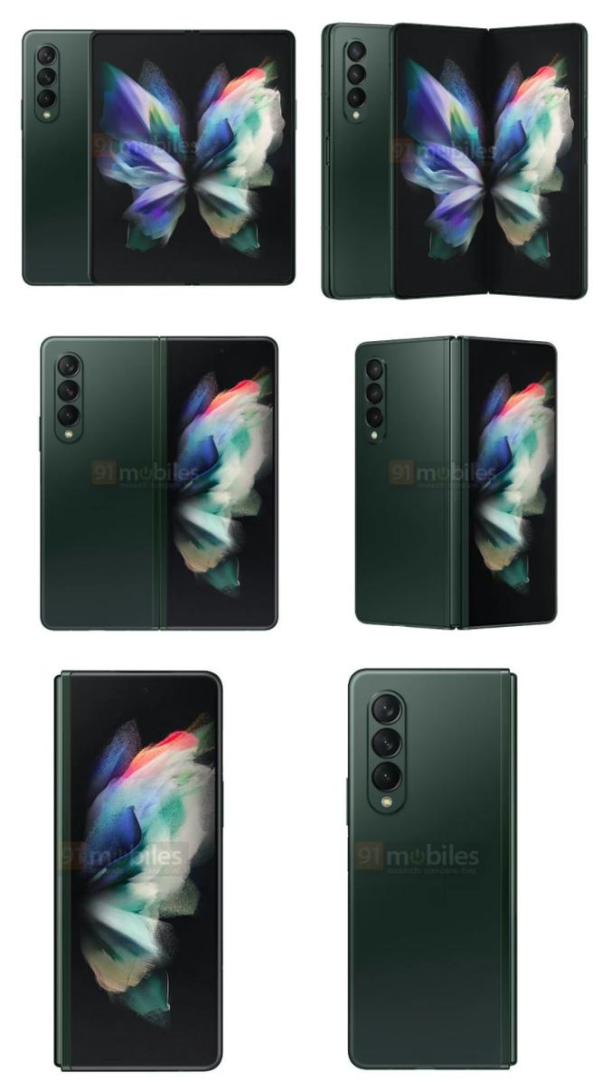 Samsung Galaxy Z Fold 3 lộ diện 3 màu sắc, dự kiến mở bán vào tháng 8 ảnh 2