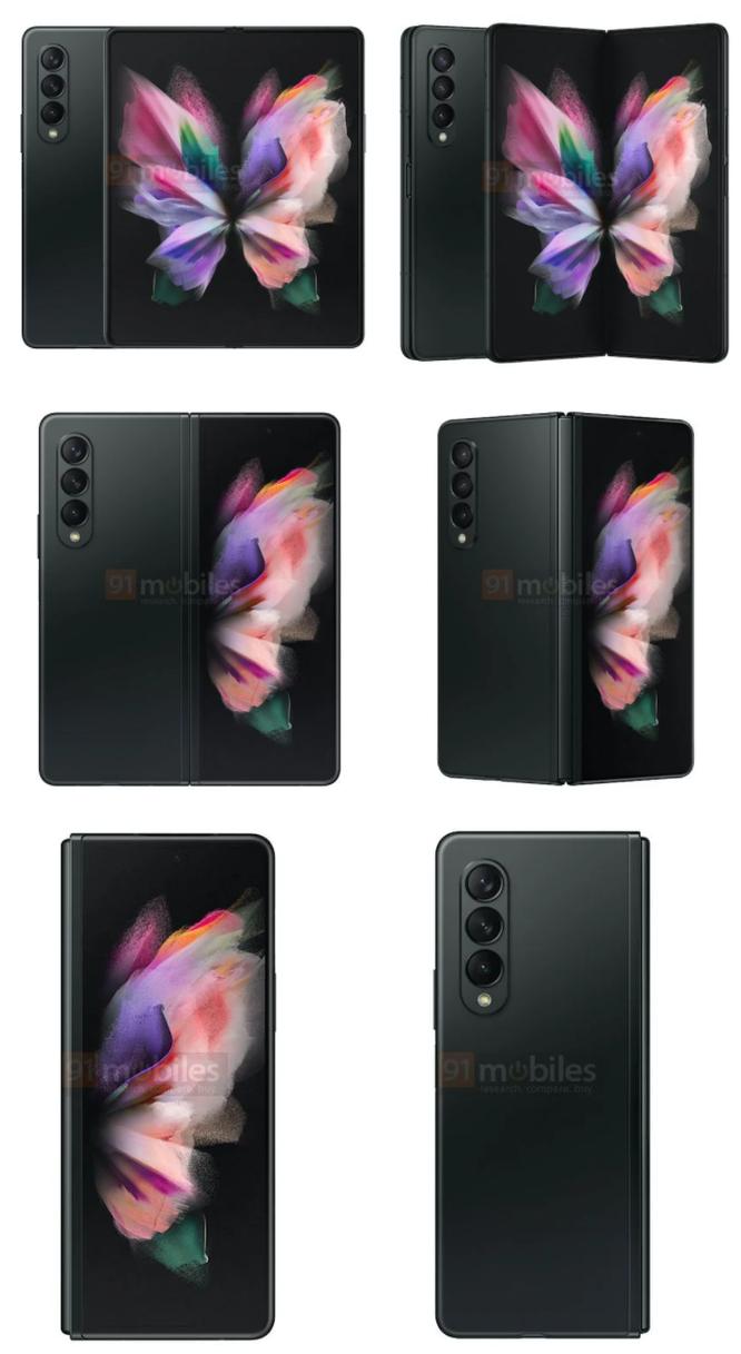 Samsung Galaxy Z Fold 3 lộ diện 3 màu sắc, dự kiến mở bán vào tháng 8 ảnh 1