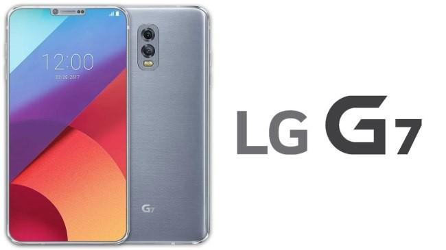 Hình ảnh render của mẫu smartphone được dự đoán là LG G7. Nguồn: Investor