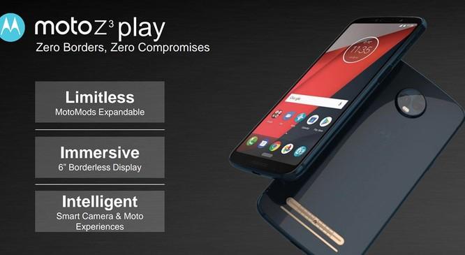 Motorola 2018 sẽ mang dáng dấp của iPhone X ảnh 1