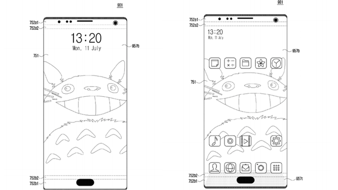 """Samsung tìm ra cách khắc phục """"tai thỏ"""" giống iPhone X ảnh 2"""