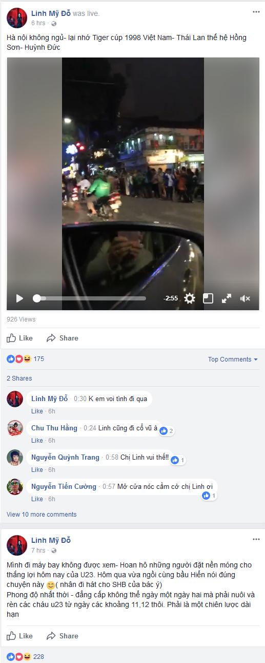 """Các ngôi sao nói gì về """"cơn sốc"""" mang tên U23 Việt Nam? ảnh 2"""