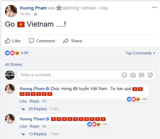Đoạn status của Hương Phạm