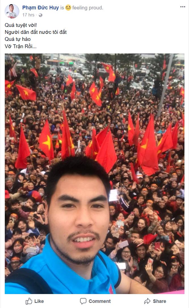 """Tuyển thủ U23 Việt Nam chia sẻ gì trên """"Phây"""" sau trận chung kết ảnh 9"""