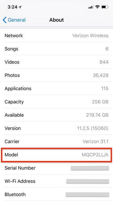 Cách phân biệt iPhone tân trang, iPhone đã sửa chữa từ ký hiệu của máy ảnh 1
