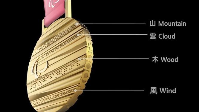 Yếu tố bí ẩn trong thiết kế tấm huy chương Olympic PyeongChang 2018 ảnh 2