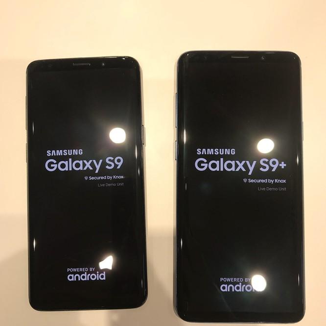 """Chùm ảnh """"nóng"""" của Galaxy S9/S9+ rò rỉ trước giờ ra mắt ảnh 1"""