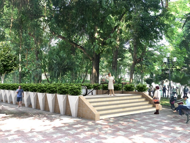 Hà Nội lấy ý kiến người dân về ga tàu điện ngầm cạnh Hồ Gươm ảnh 3