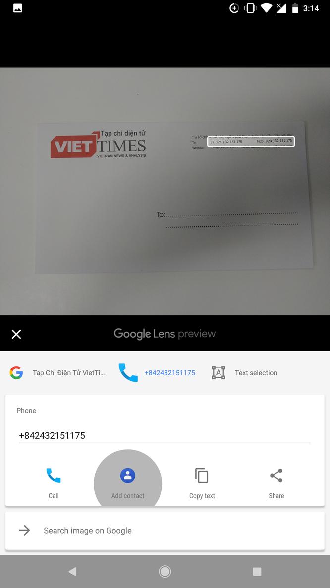 """Hướng dẫn toàn tập sử dụng Google Lens: """"Đọc vị"""" thông tin trong ảnh ảnh 3"""