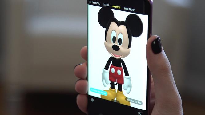 Các nhân vật hoạt hình Disney dễ thương xuất hiện trên AR Emoji của Galaxy S9/S9+ ảnh 1