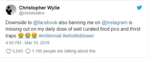 Chân dung Christopher Wylie, người đã phanh phui vụ rò rỉ thông tin 50 triệu tài khoản Facebook ảnh 1