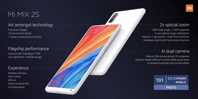 Xiaomi Mi Mix 2s chính thức ra mắt: khả năng dịch trực tiếp rất ấn tượng ảnh 2