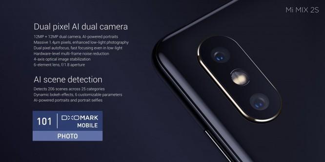 Xiaomi Mi Mix 2s chính thức ra mắt: khả năng dịch trực tiếp rất ấn tượng ảnh 1