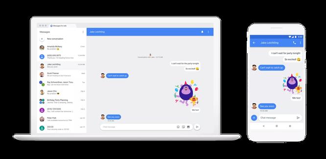 Google phát triển phần mềm nhắn tin giống iMessage của Apple ảnh 4