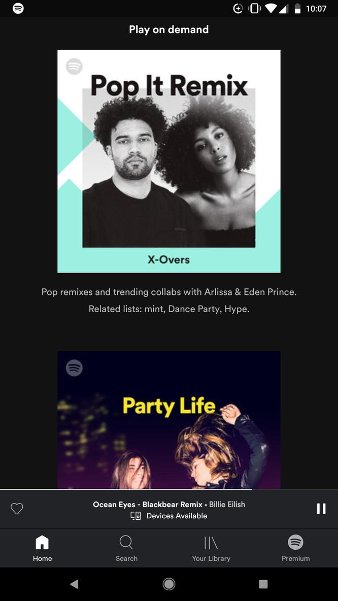 Spotify cập nhật phiên bản mới thân thiện hơn với người dùng miễn phí ảnh 1