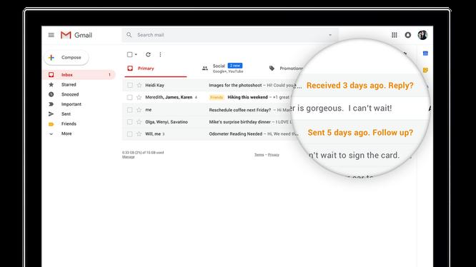 Gmail lột xác với giao diện hoàn toàn mới, thuận tiện hơn cho người dùng ảnh 2