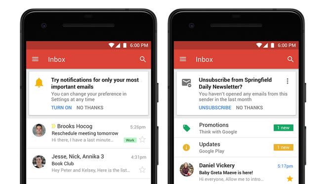 Gmail lột xác với giao diện hoàn toàn mới, thuận tiện hơn cho người dùng ảnh 4