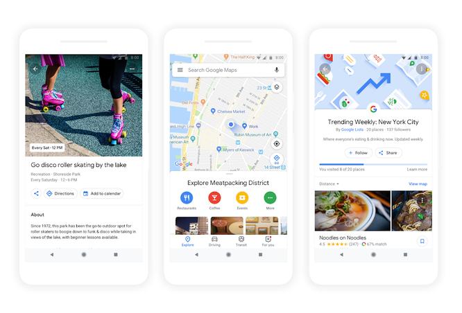Google giới thiệu những tính năng mới ứng dụng công nghệ AR trên Google Maps ảnh 1