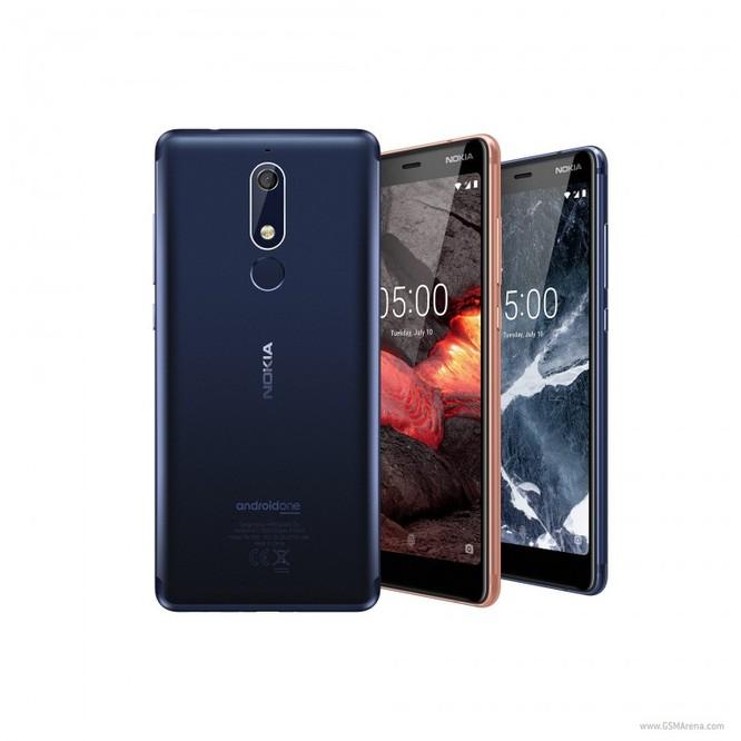 Lộ diện Nokia 5.1, 3.1 và 2.1 - bộ 3 smartphone giá rẻ chạy Android One và Android Go ảnh 1