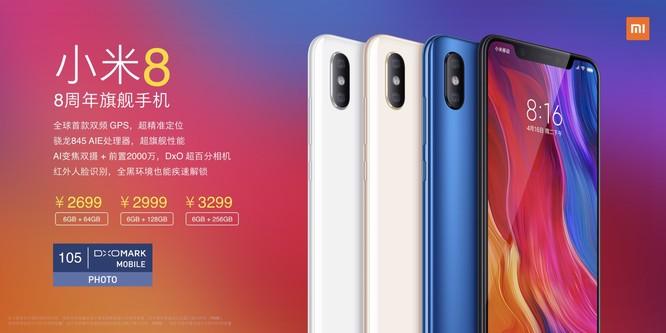 Xiaomi ra mắt Mi 8: không hổ danh flagship Trung Quốc ảnh 14