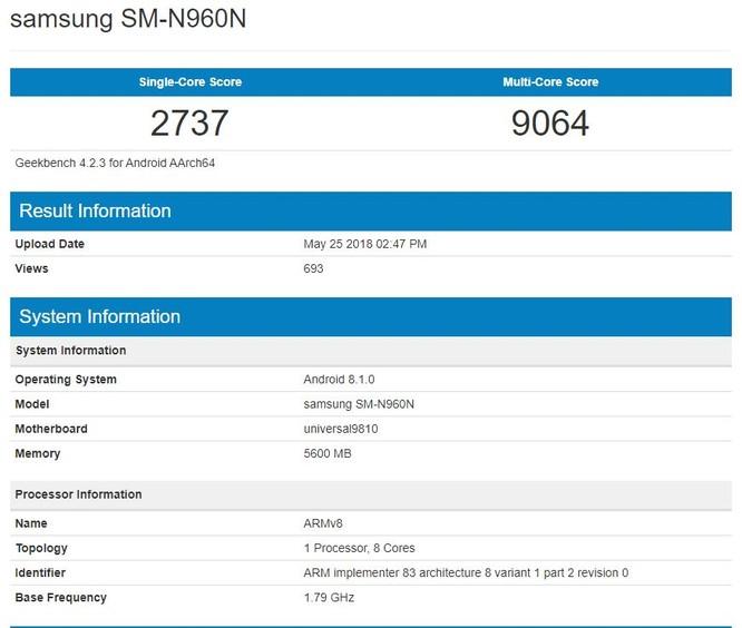 Samsung trì hoãn thời gian ra mắt Galaxy Note 9 để thay đổi thiết kế ảnh 1