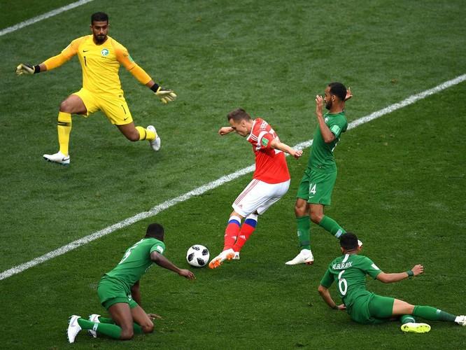World Cup 2018: 5 điều đọng lại sau chiến thắng hủy diệt của Nga trước Saudi Arabia ảnh 4