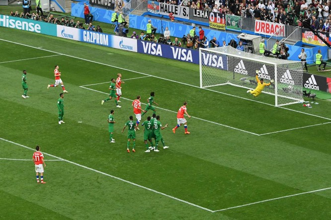 World Cup 2018: 5 điều đọng lại sau chiến thắng hủy diệt của Nga trước Saudi Arabia ảnh 1
