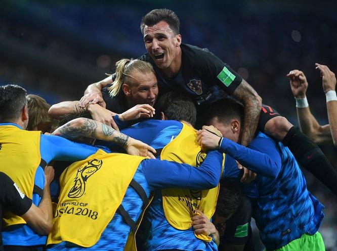 """World Cup 2018: Nhấn chìm Argentina 3-0, """"ngựa ô"""" Croatia lộ diện ảnh 7"""